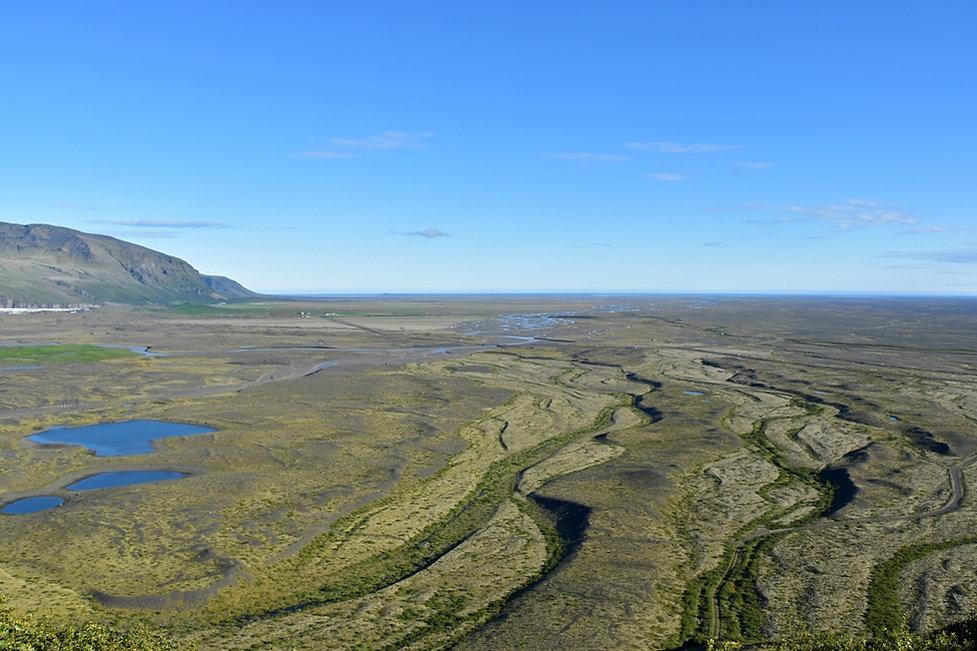 Skaftafell overlook islande iceland
