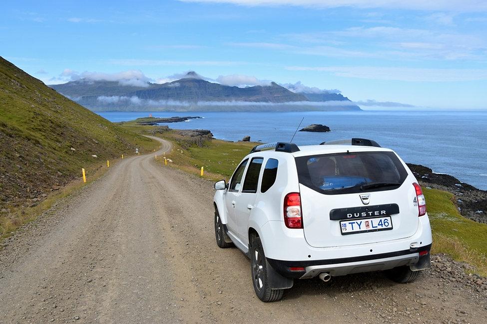 fjord est islane route piste duster vattarnes