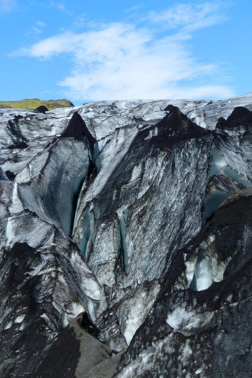 Sólheimajökull glacier islande