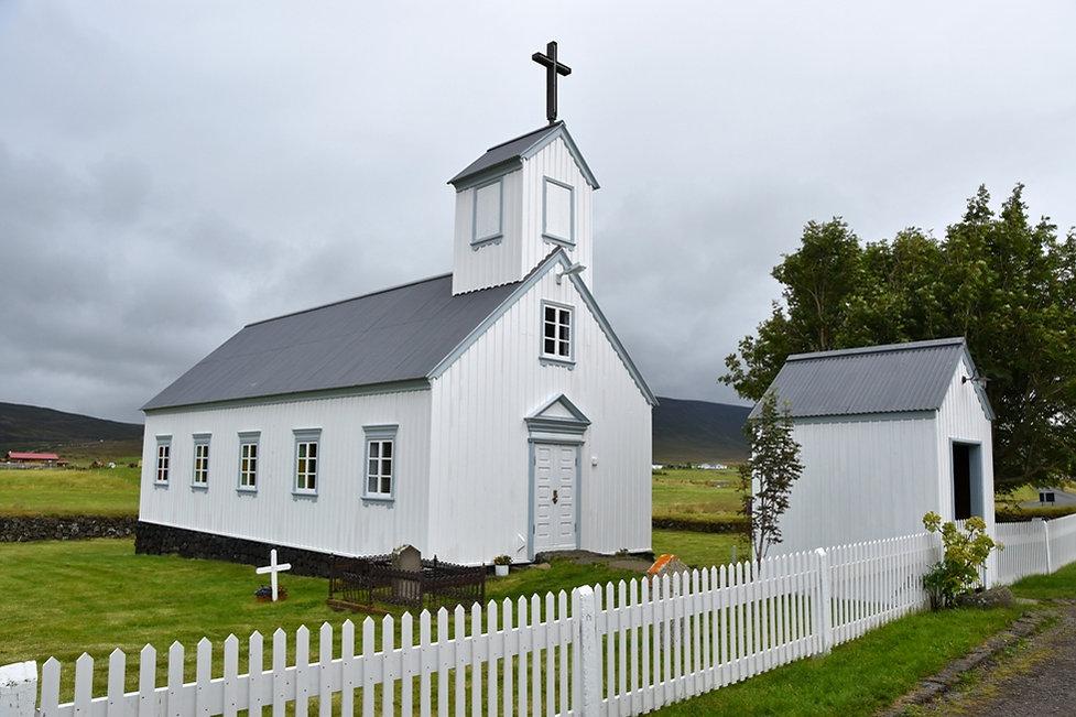 islande iceland Grenjadarstadur église church