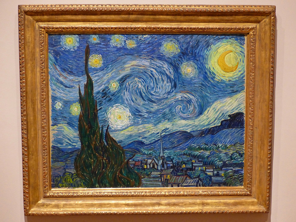 New-York - MOMA - la nuit étoilée