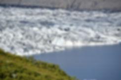 Skaftafellsjökull glacier skaftafell islande iceland