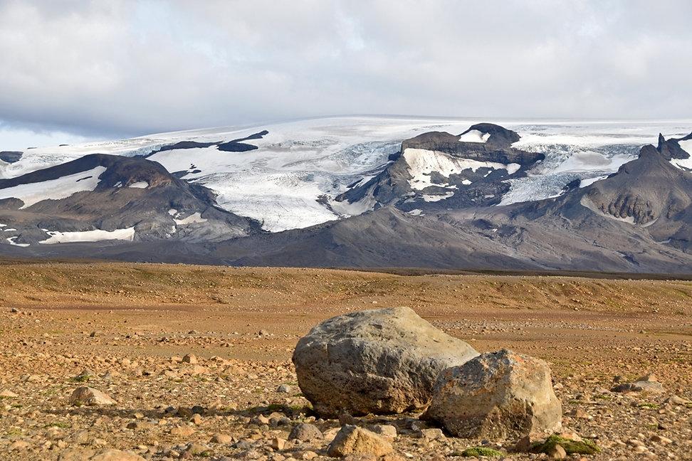 Islande piste F550 glacier Thórisjökull Langjökull