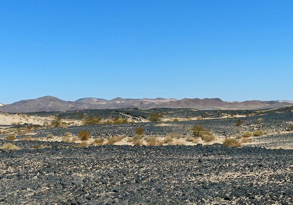 Ouest Américain - Californie - Lavic Lake Volcanic Field - Pisgah Volcano