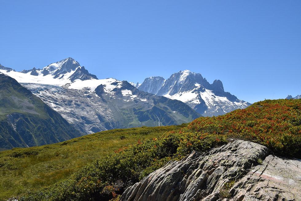 Chamonix - Aiguillette des Posettes - glacier tour - aiguille verte