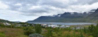 Reydarfjördur fjord est islande panorama iceland