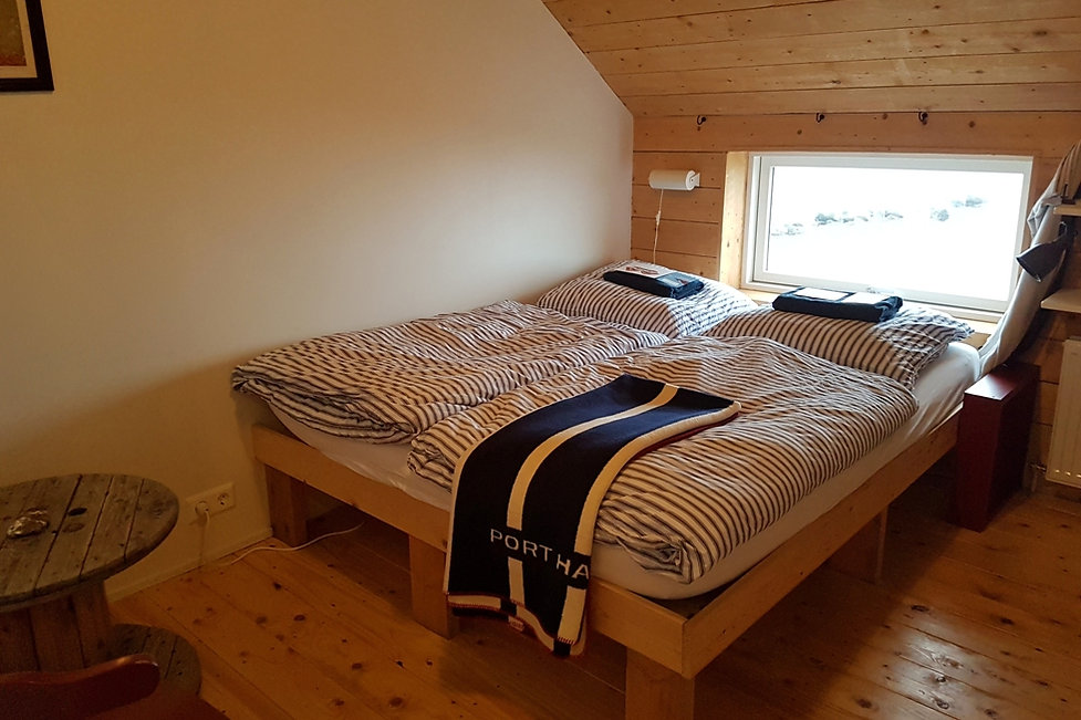 Tugulending Guesthouse chambre double room see view vue mer islande iceland