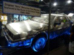 Universal Studios Hollywood Retour vers le futur DeLorean originale