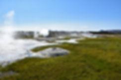 Islande zone géothermique Hveravellir fumerolles sources chaudes