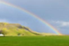 islande arc en ciel iceland rainbow