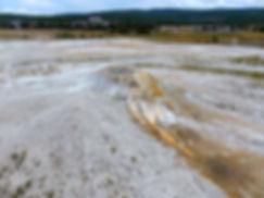 Yellowstone National Park Upper Geyser Basin Sponge Geyser