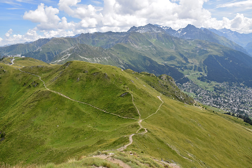 Randonnée Pierre Avoi - Suisse - Verbier - col de la marlène