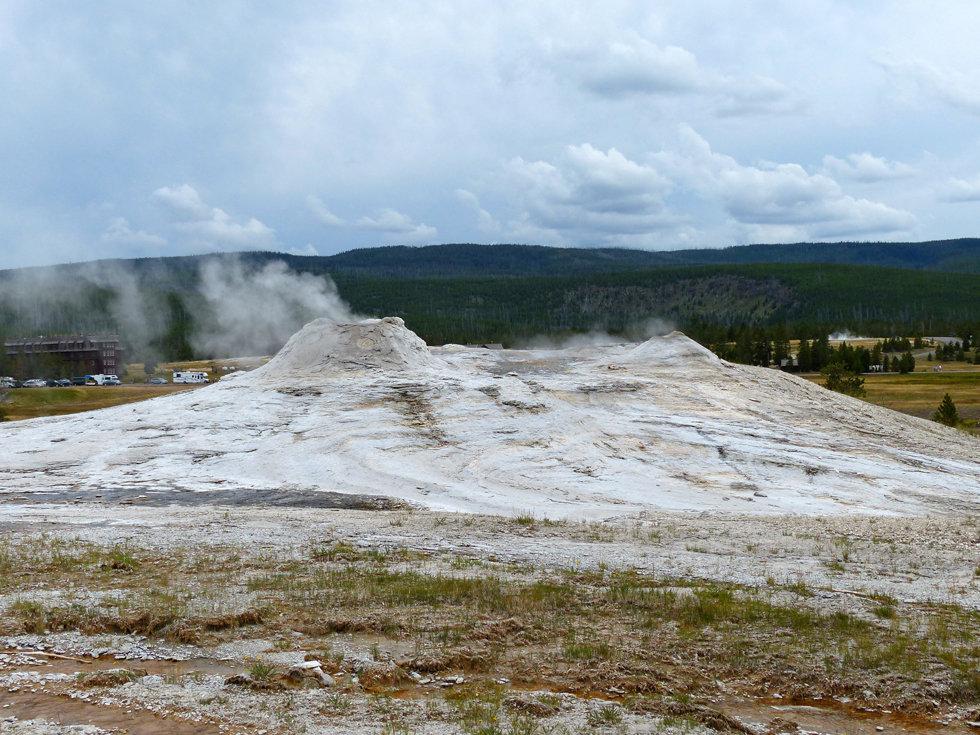 Yellowstone National Park Upper Geyser Basin Lion Geyser Group