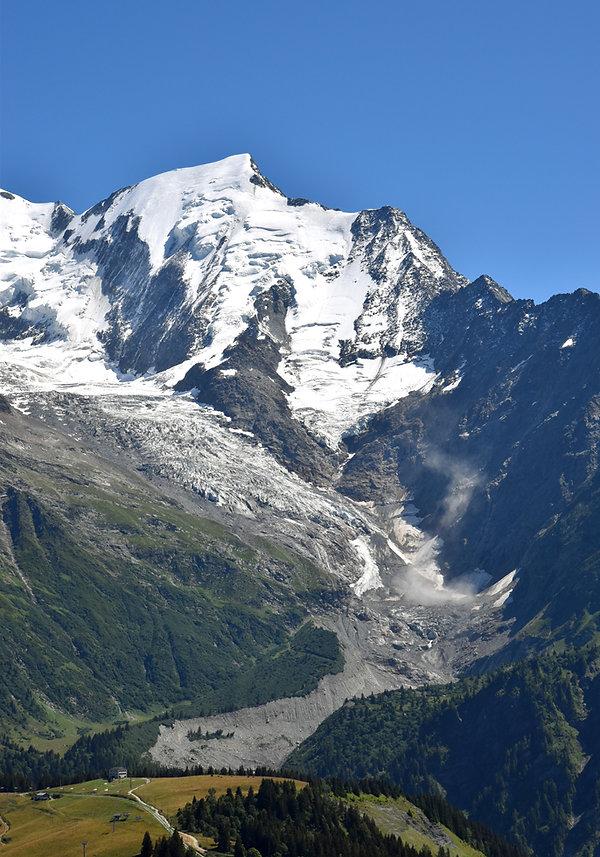 Chamonix - les Houches - randonnée - prarion - aiguille bionnassay