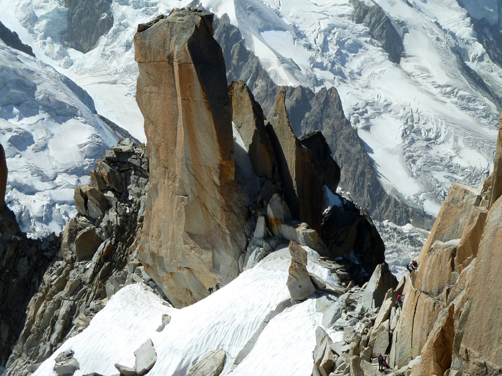 Chamonix - Aiguille du Midi - Arete des Cosmiques