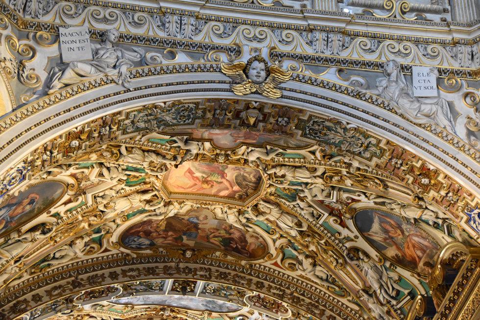 Bergame Citta Alta Basilique santa maria maggiore