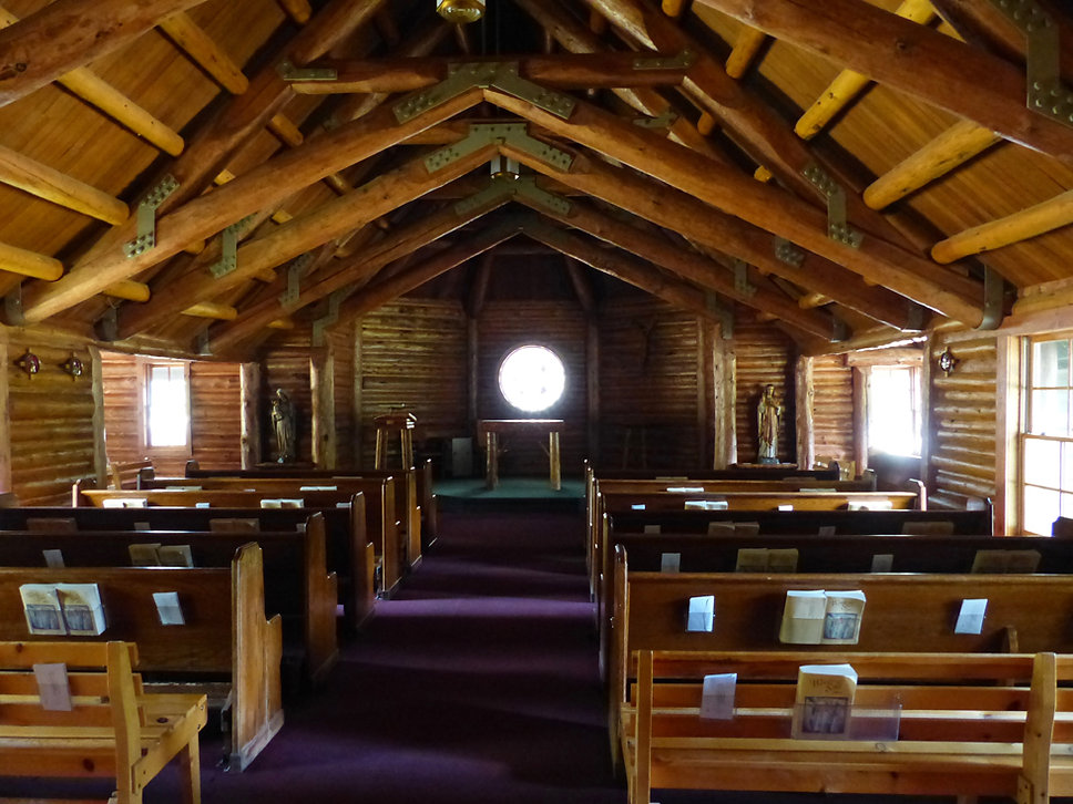 Grand Teton National Park chapel of the sacred heart