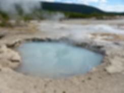 Yellowstone National Parc Norris Geyser Basin Veteran Geyser