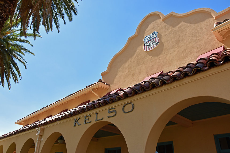 Californie - Mojave National Preserve - Kelso depot