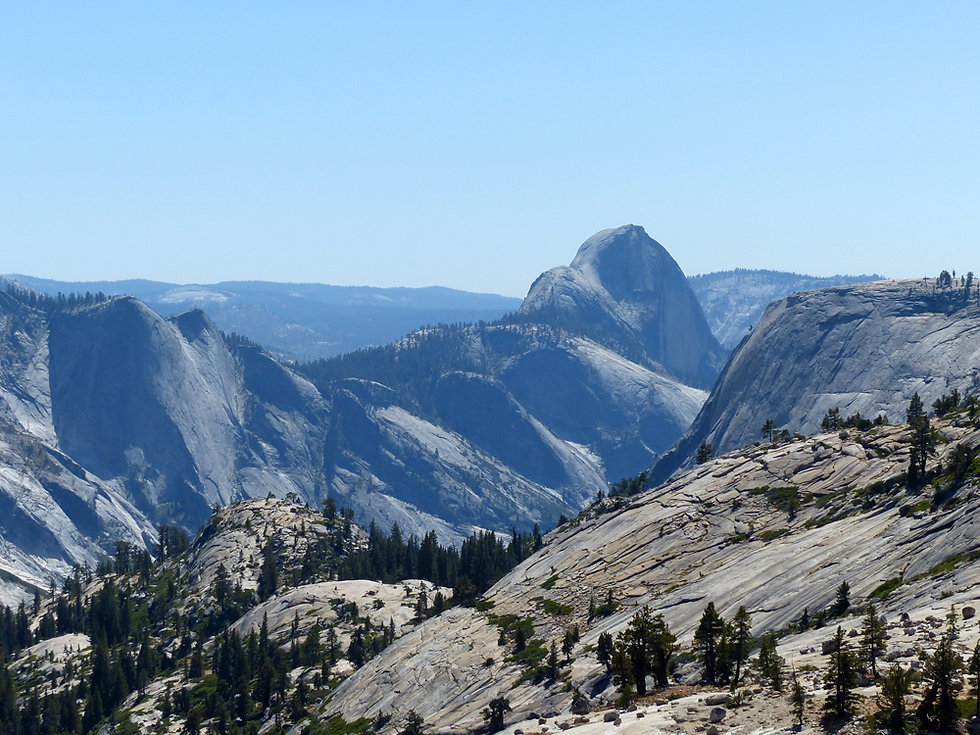 Yosemite National Park Olmsted Point Half Dome