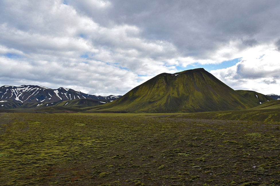 iceland island f208 paysage volcan mousse