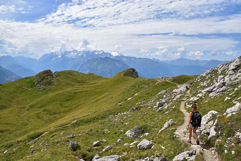 Randonnée Pierre Avoi - Suisse - Verbier -