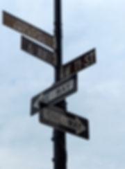 New-York - panneaux rues