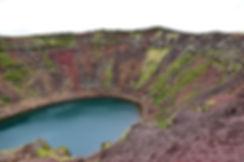 Kerid cratère crater