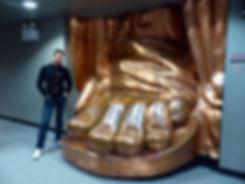 New-York - Statue de la liberté pied