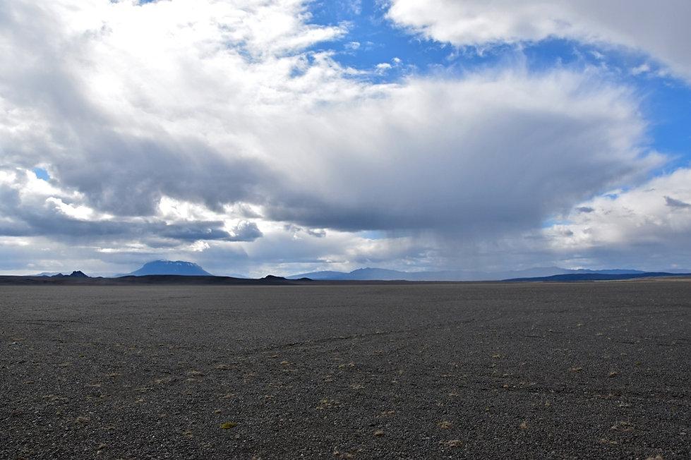 Piste F910 askja désert hautes terres islande icelandes