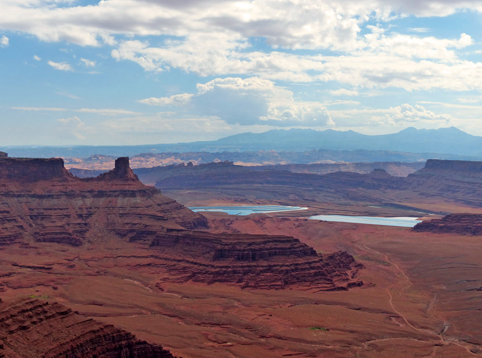 Dead Horse Point State Park basin Overlook