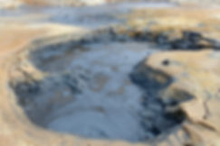 Islande Iceland Myvatn Hverir géothermique Namafjall fumerolle mare boue