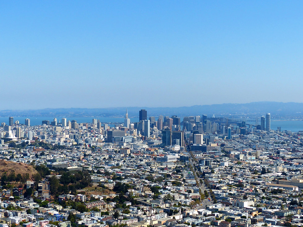 San Francisco - Twin Peaks - Downtown