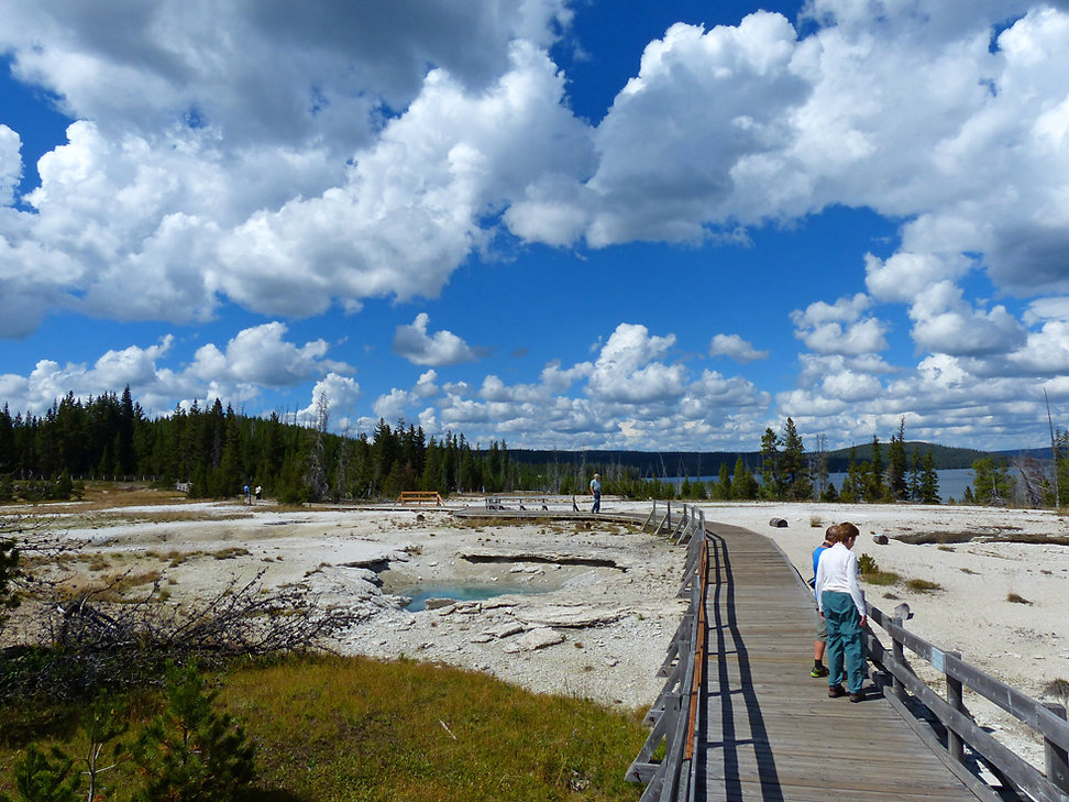 Yellowstone National Park West Thumb Geyser Basin
