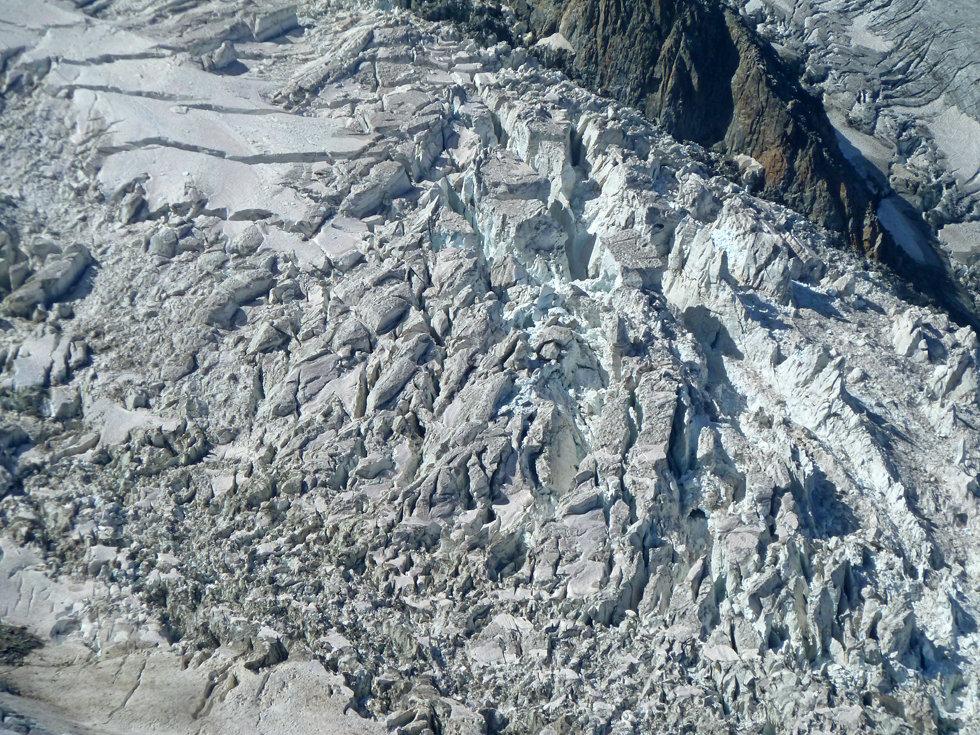Chamonix - Glacier des Bossons séracs