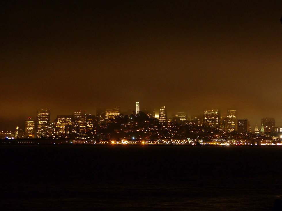 San Francisco - skyline nuit