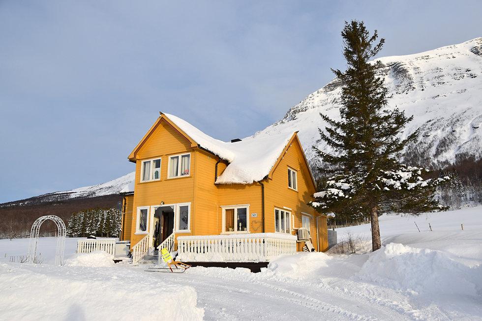 Norvège - Øverbygd - maison bois
