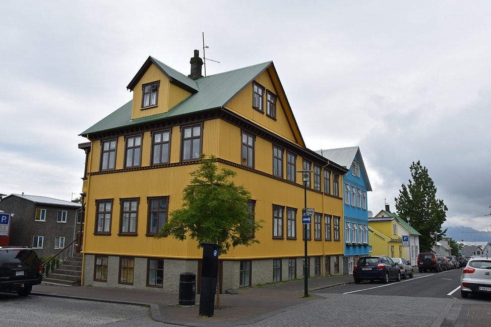 Reykjavik maisons