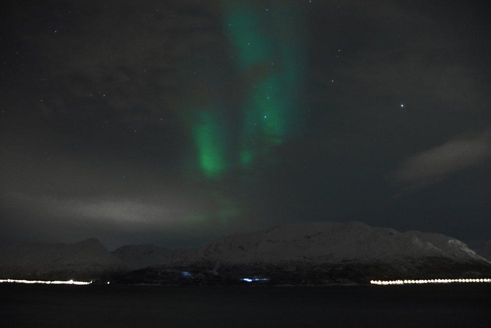 Norvège - Aurora Fjord Cabins - aurore