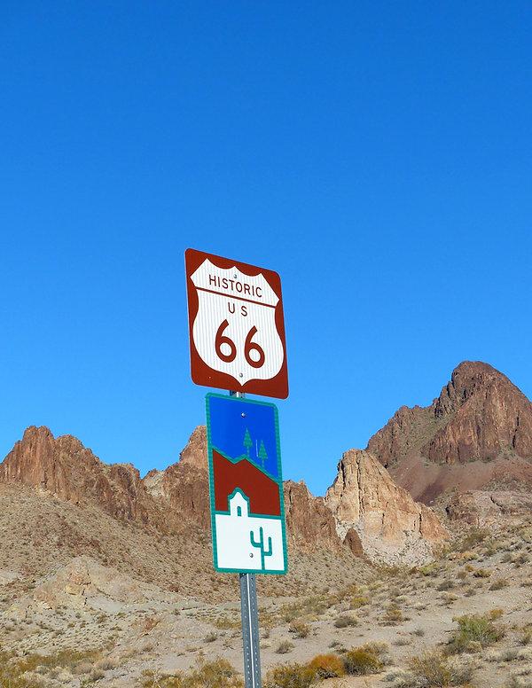 route 66 panneau