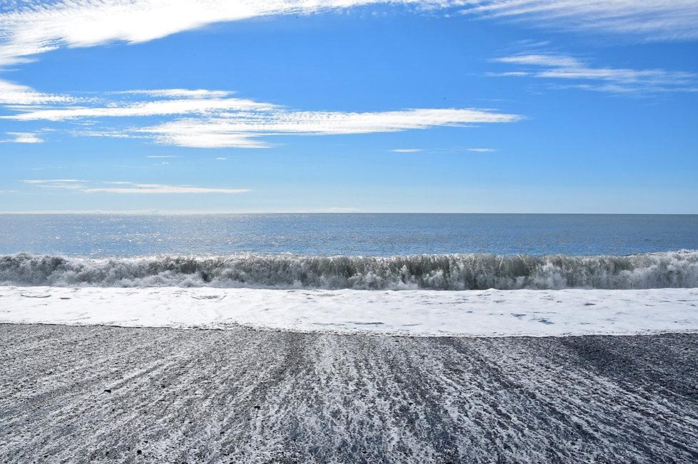 Reynisfjara plage sable noir