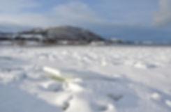 Norvège - Vestvågøya - hiver - glace