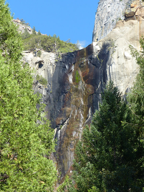 Yosemite National Park Bridalveil Fall dry sec