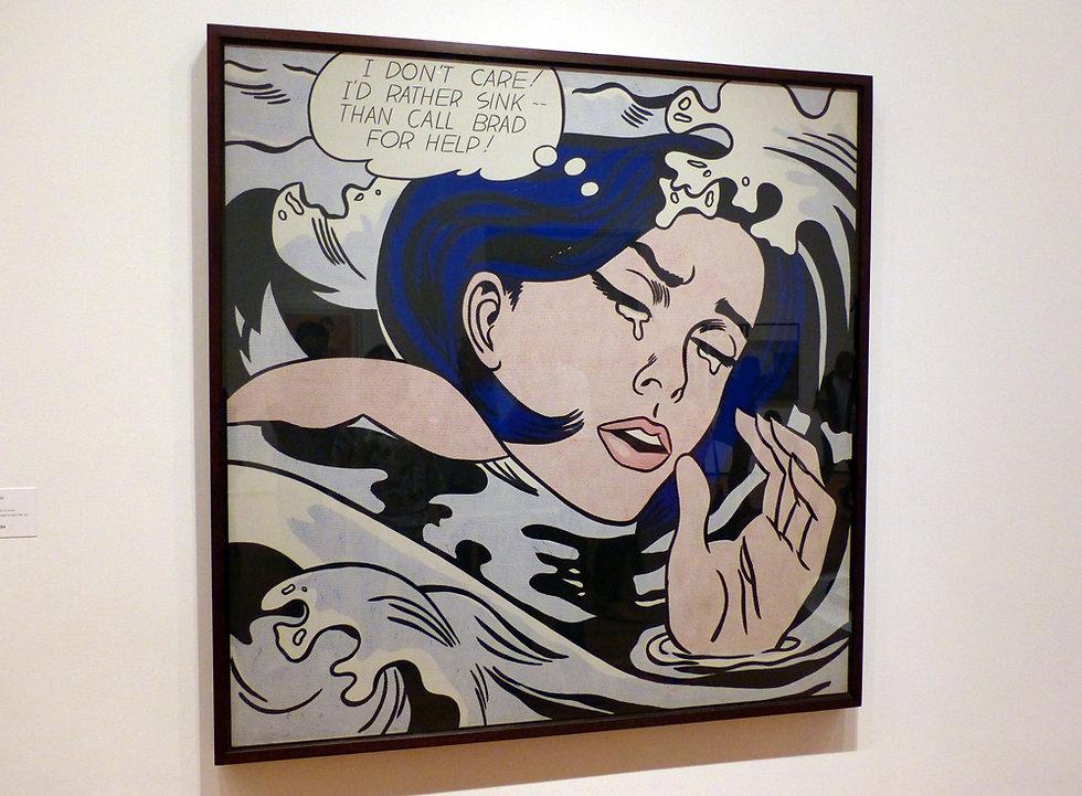 New-York - MOMA - Drowing Girl