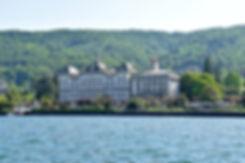 Italie Lac Majeur Stresa Grand Hotel îles borromées