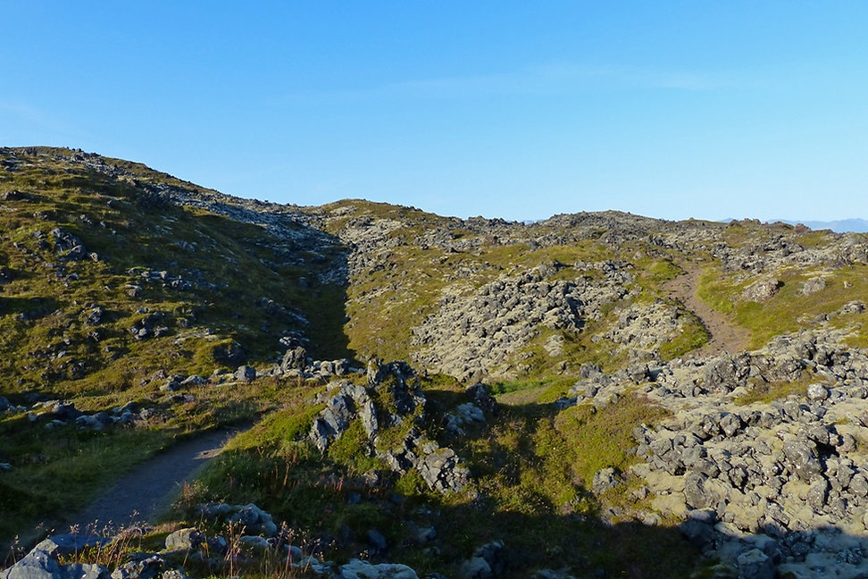 Islande chemin côtier Hellnar Arnarstapi