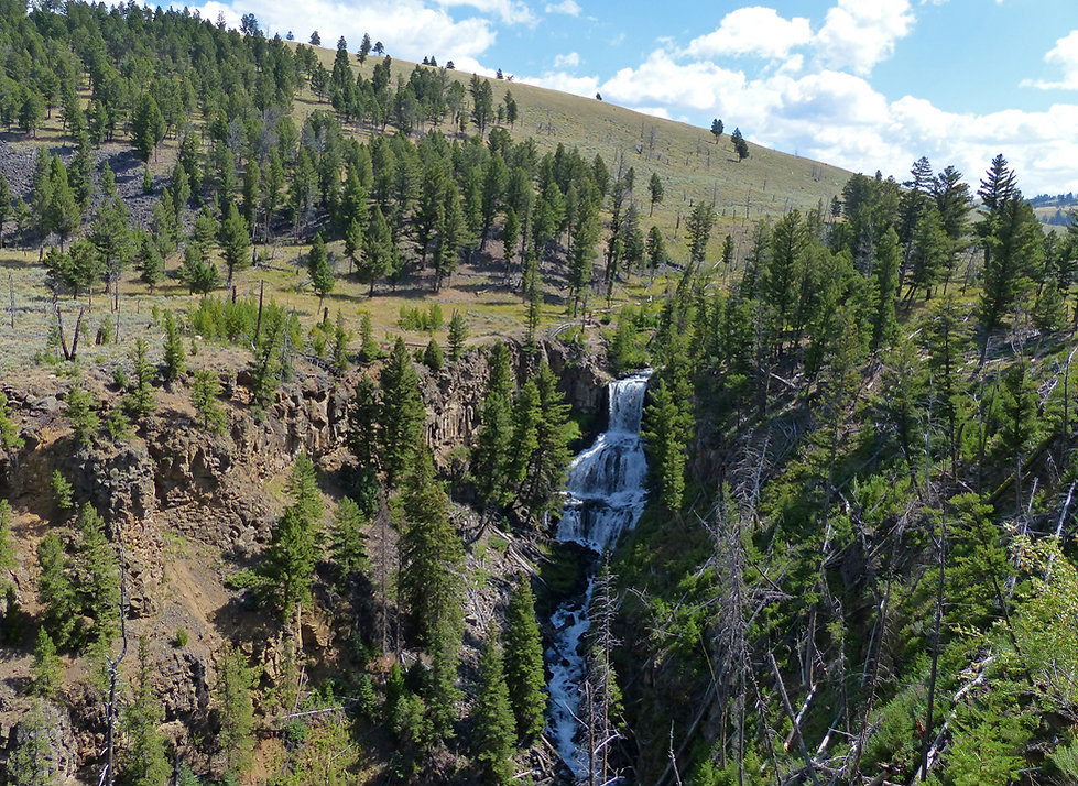 Yellowstone National Parc Undine Falls
