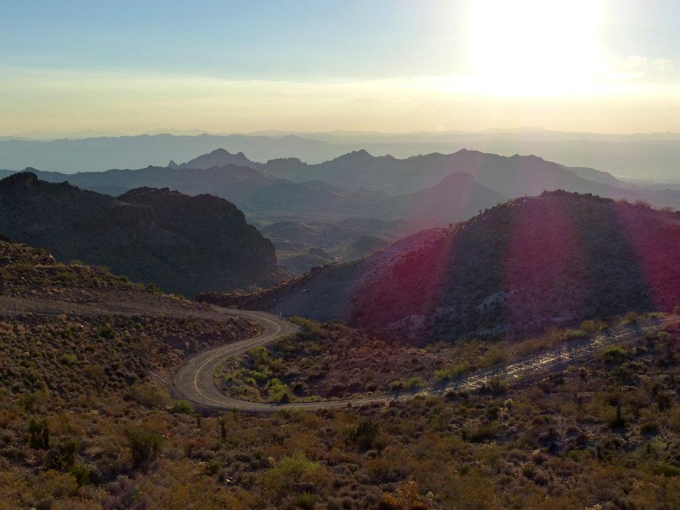 Route 66 montagnes