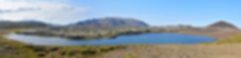 Islande lac Selvallavatn coulée lave Berserkjahraun