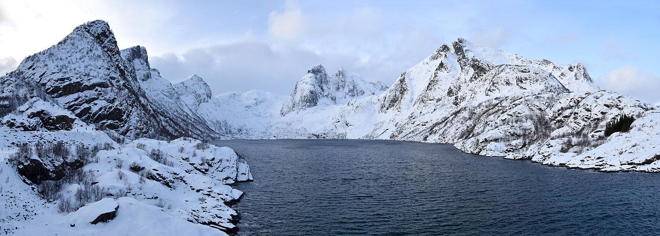 Norvège - Lofoten - Moskenesøya - Djupfjorden - fjord